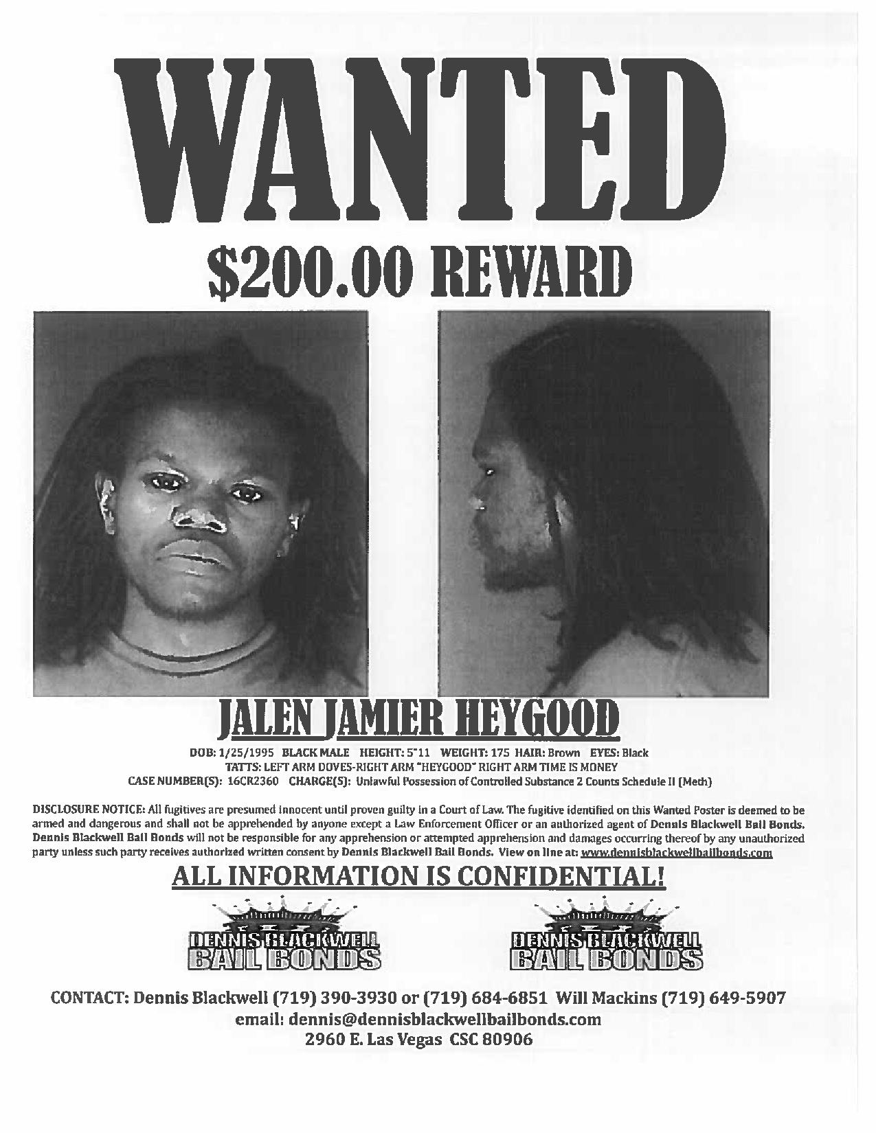Jalen Heygood – Most Wanted