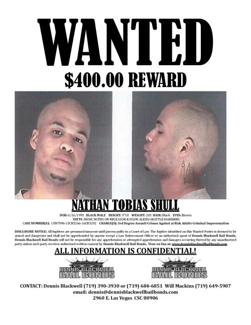 Nathan Shull – Most Wanted