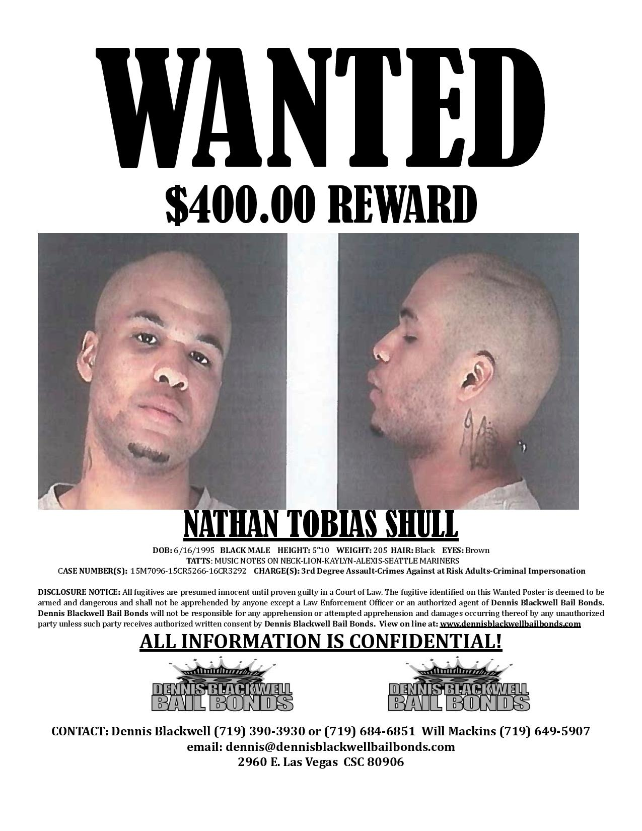 Nathan Shull – Most Wanted
