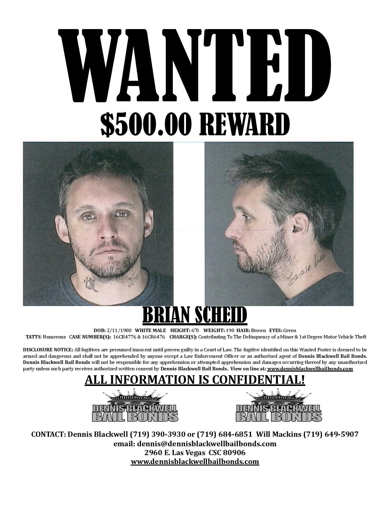 Brian Scheid – Most Wanted Colorado