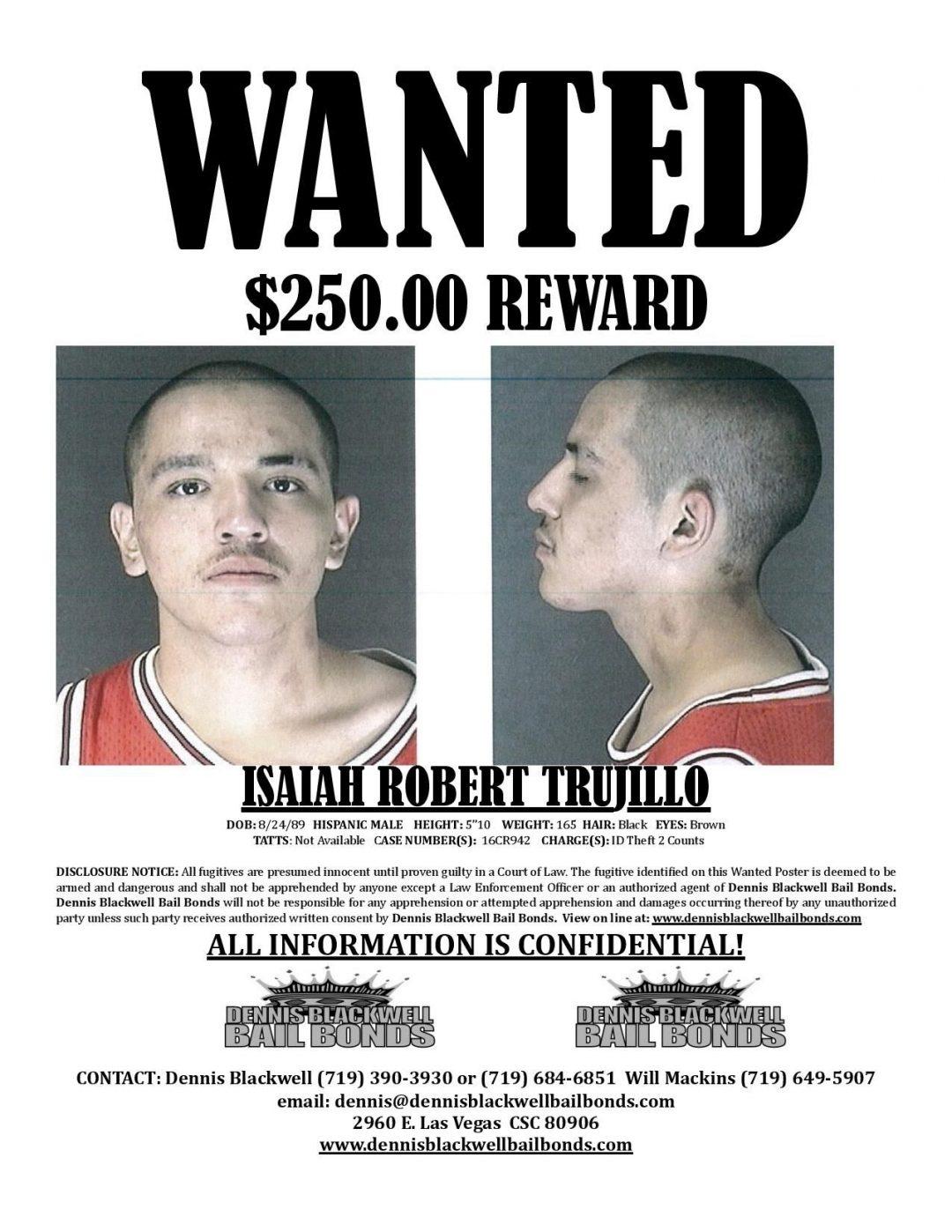Isaiah Trujillo – Most Wanted Colorado
